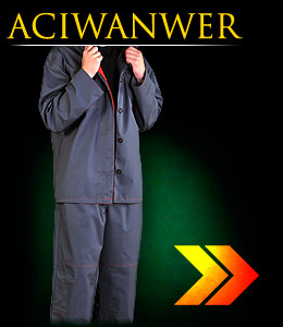 ACIWANWER - Protective clothing for welders with electrostatic properties, it protects against liquid chemicals.