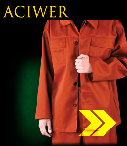 ACIWER - Protective clothing which protects against liquid chemicals.