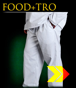 FOOD+TRO - Protective waist-long trousers.