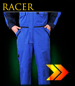RACER - Protective overalls.