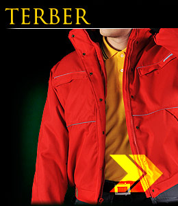 TERBER - Winter jacket quilted inside.