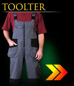 TOOLTER - Protective dungarees.