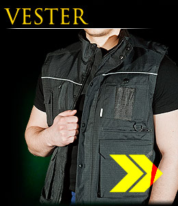 VESTER - Winter jacket made of rip-stop fabric.