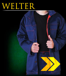 WELTER - Protective clothing for welders.